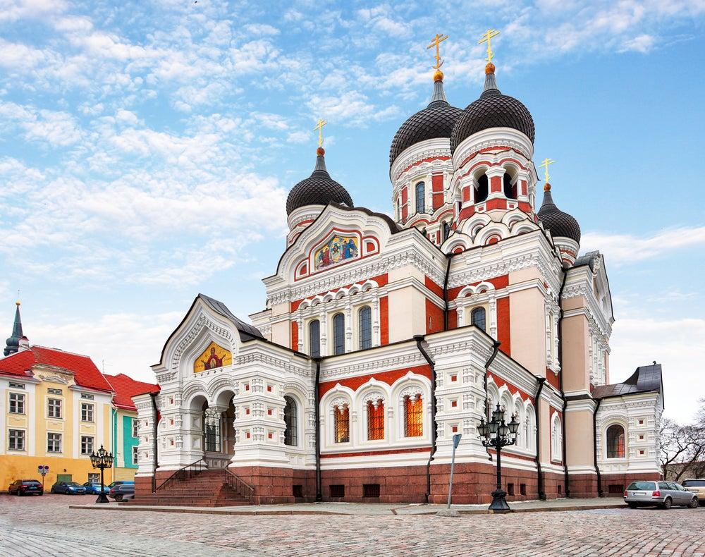 Catedral de Alexander Nevski en Tallin