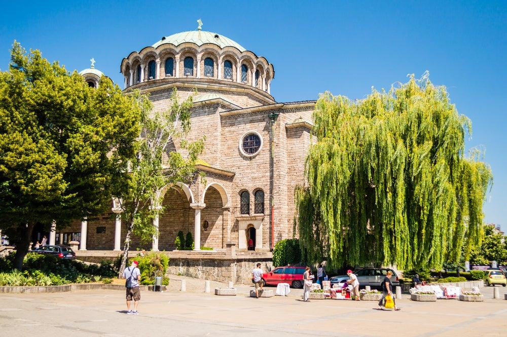 Catedral Sveta-Nedelya en Sofía