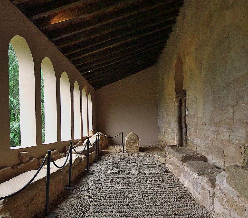 Claustro del monasterio de San Millán de Suso