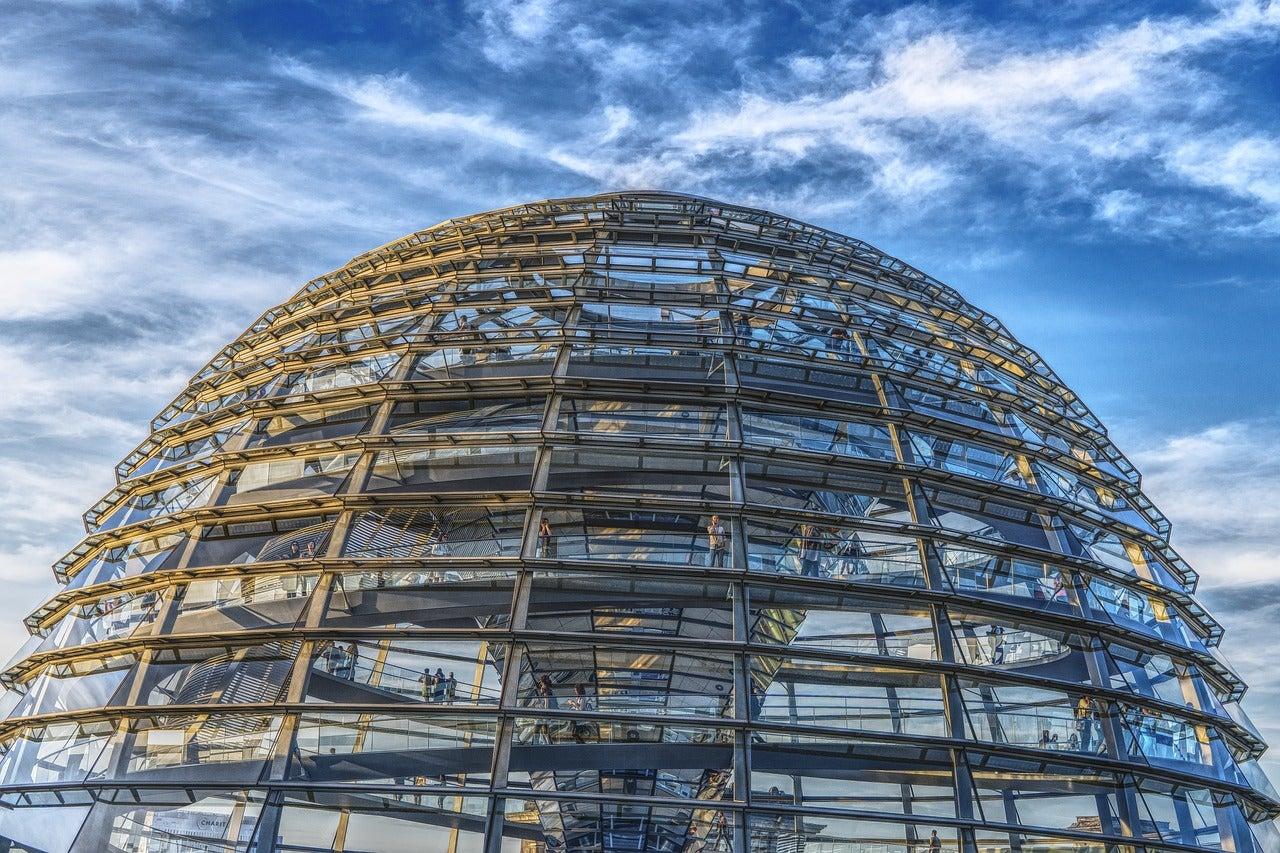 Cúpula del Parlamento alemán