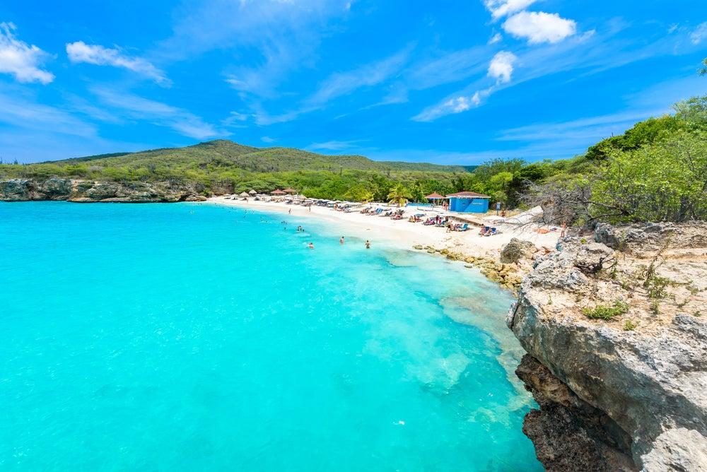 Playa en Curazao