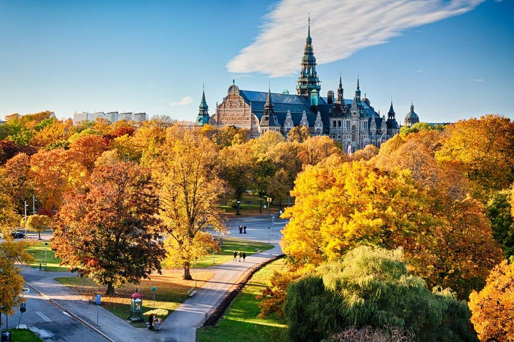 Estocolmo, uno de los lugares para disfrutar del otoño