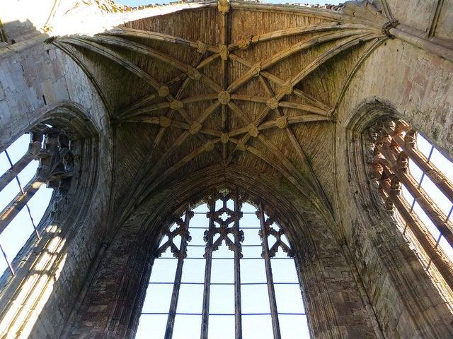 Iglesia de la abadía de Melrose