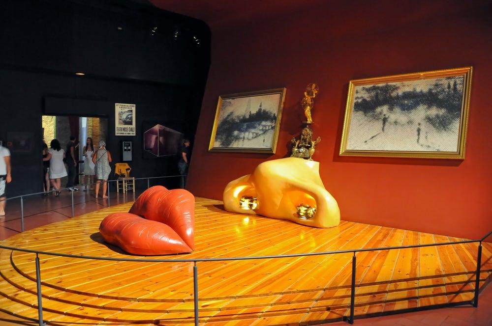 Interior del Teatro-Museo Dalí