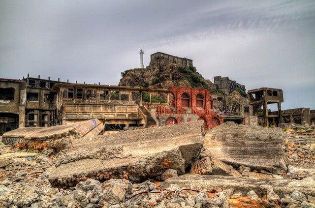 Isla Hashima, uno de los lugares abandonados más espectaculares