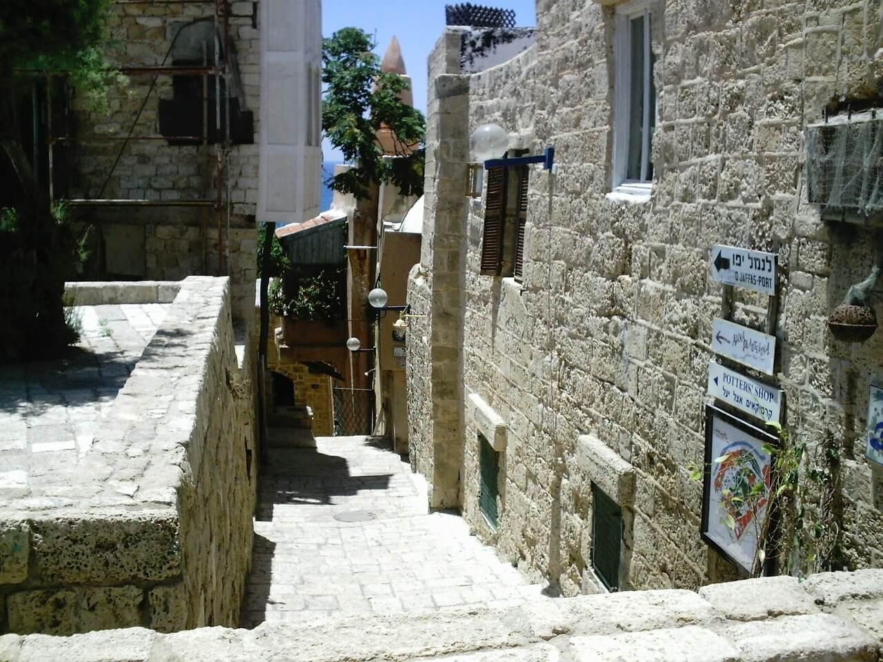 Calle de Jaffa, uno de los destinos al viajar a Israel
