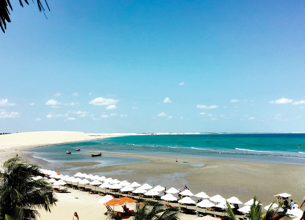 Playa en Jericoacoara