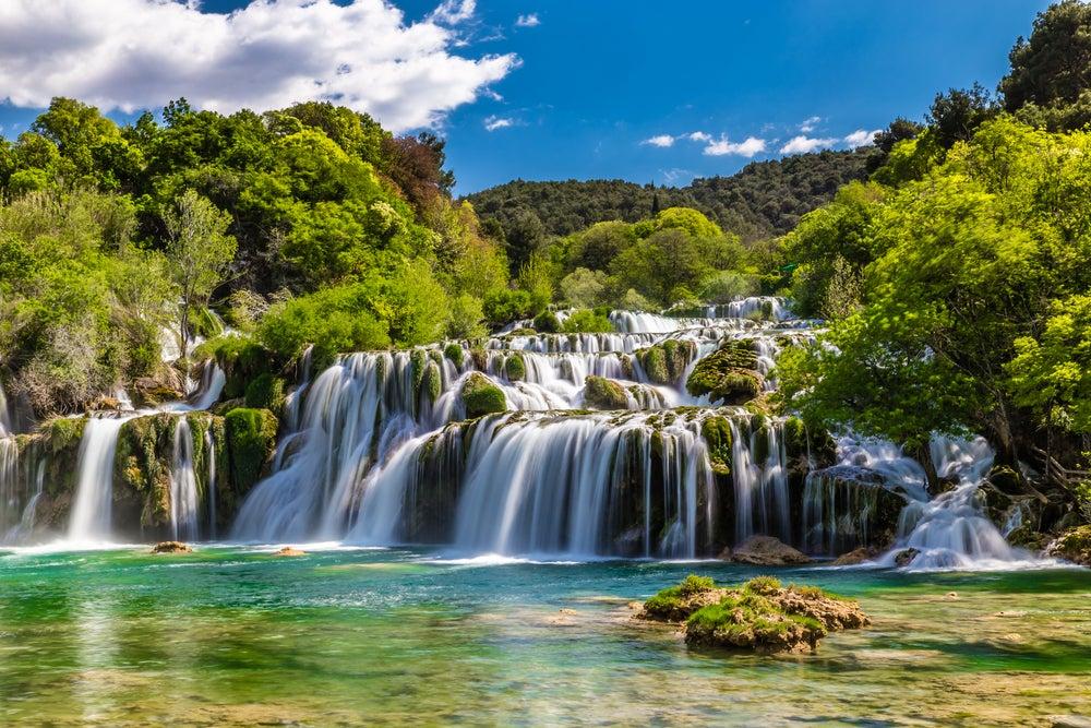 Parque Nacional Krka en Croacia