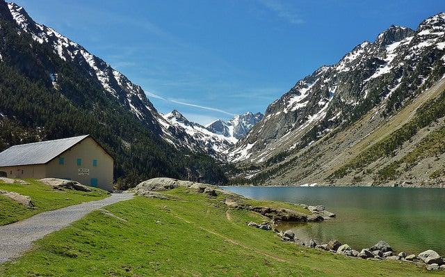 LAsc de Gaube el los Altos Pirineos