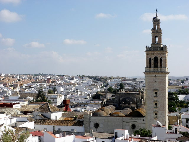 Vista de Lebrija uno de los pueblos más bonitos de Sevilla