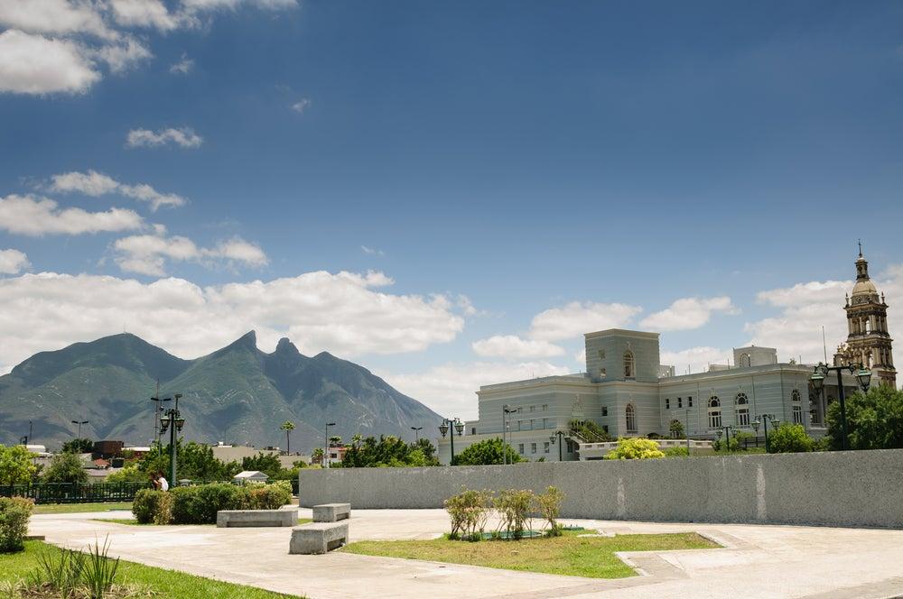Macroplaza y Cerro de la Mesa en Monterrey
