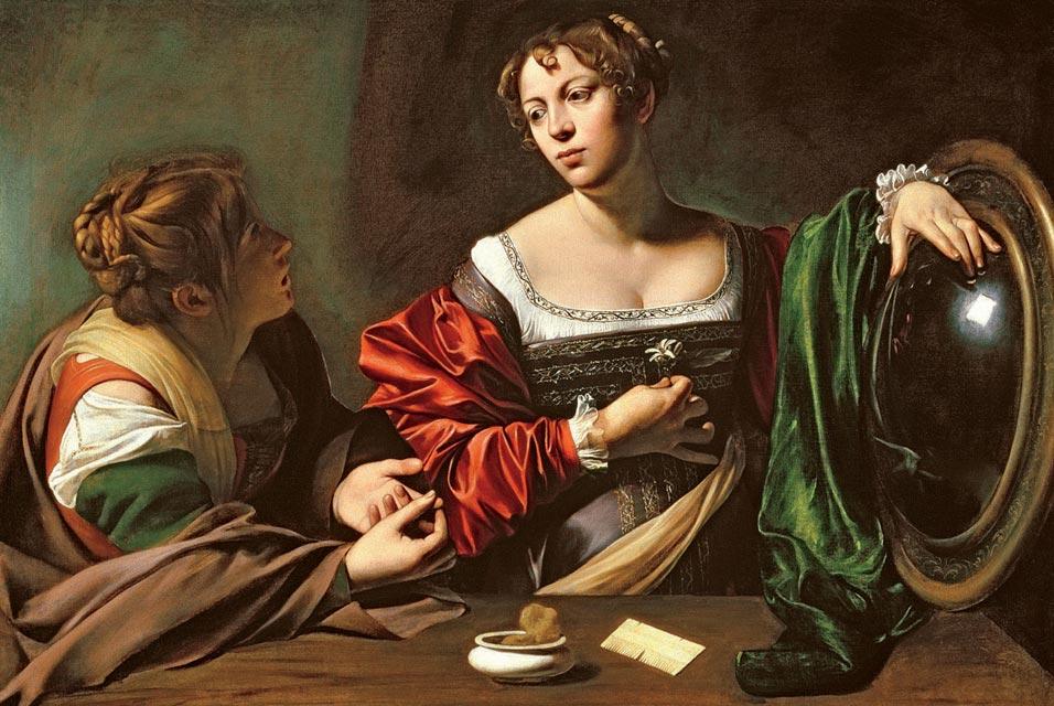 """""""Marta y María Magdalena"""" de Caravaggio"""