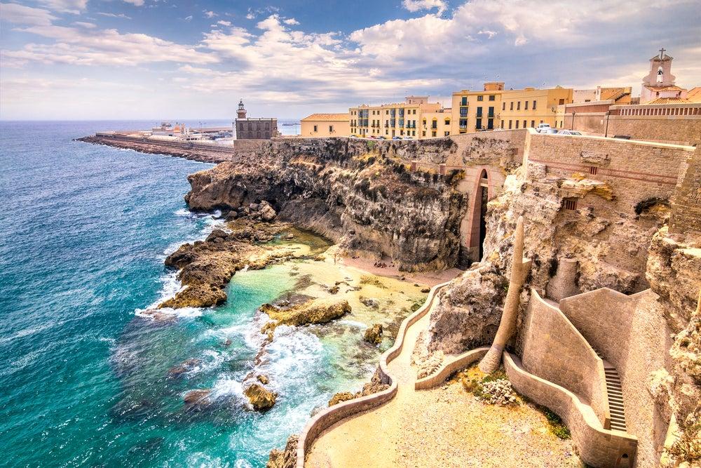 Ceuta y Melilla. Fortaleza de Melilla