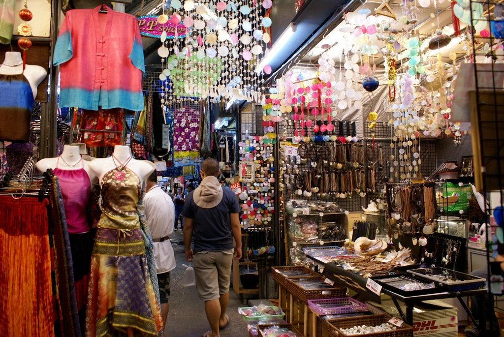 Mercado Chatuchak en Bankok