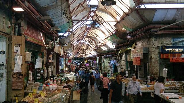 Mercado Mahade Yehuda en Jerusalén