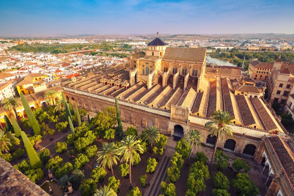 Vista de la Mezquita-Catedral desde la torre campanario