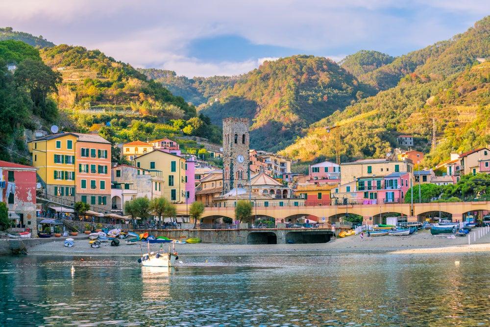Monterosso en la encantadora Cinque Terre