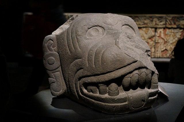Exposición en el Museo del Templo Mayor de México