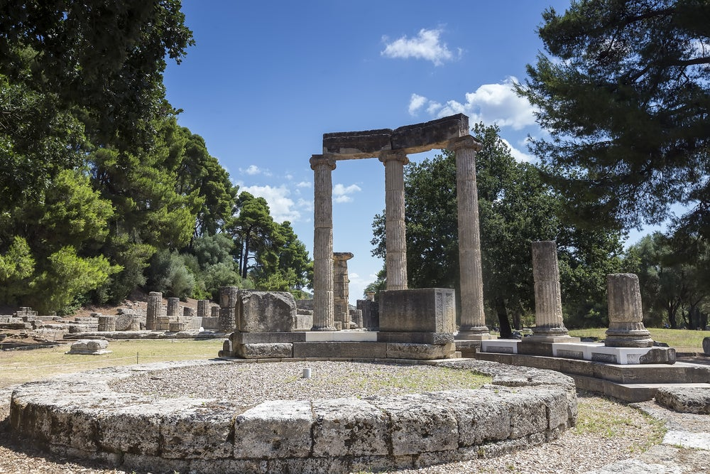 Olimpia en Grecia