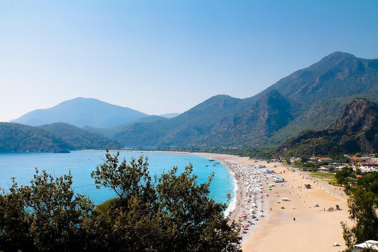 Fethiye, una de las mejores playas de Turquía