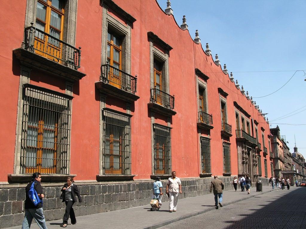 Palacio del Arzobispado en Ciudad de México