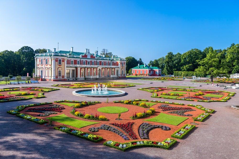 Palacio de Kadriog en Tallin