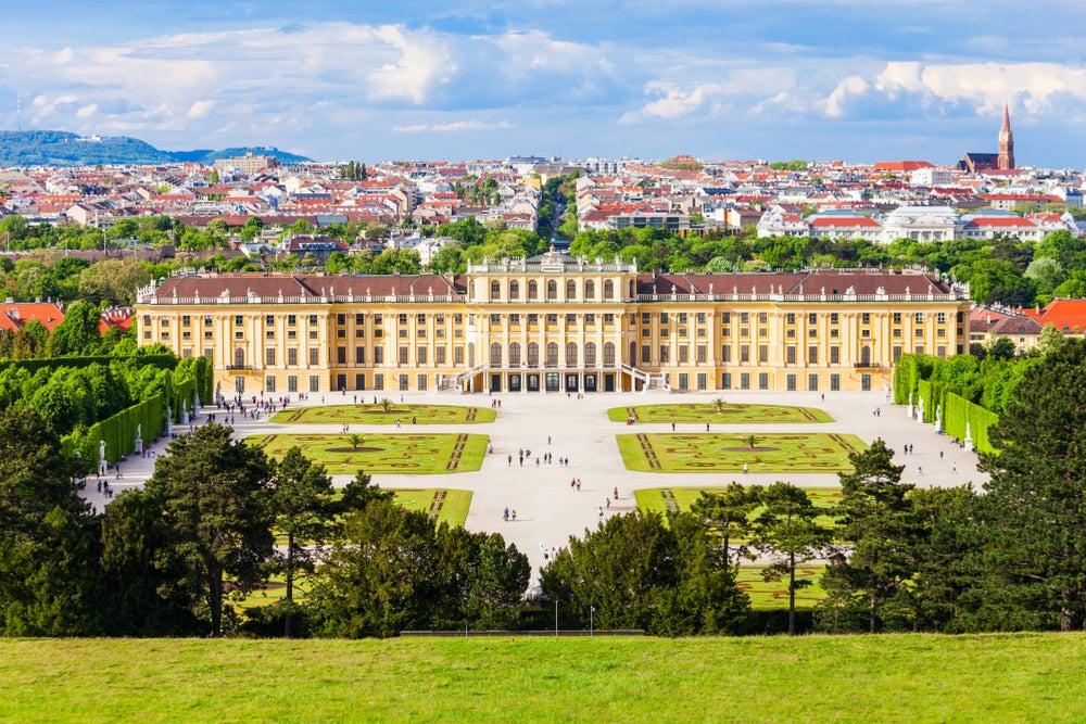 Palacio de Schonbrunn en Viena