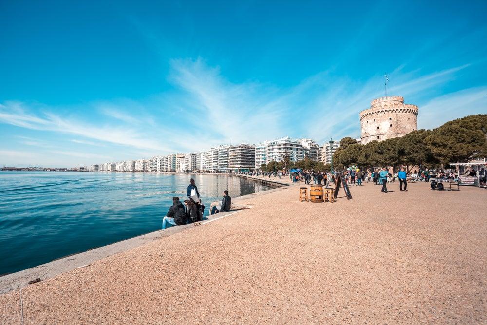 Paseo marítimo de Tesalónica