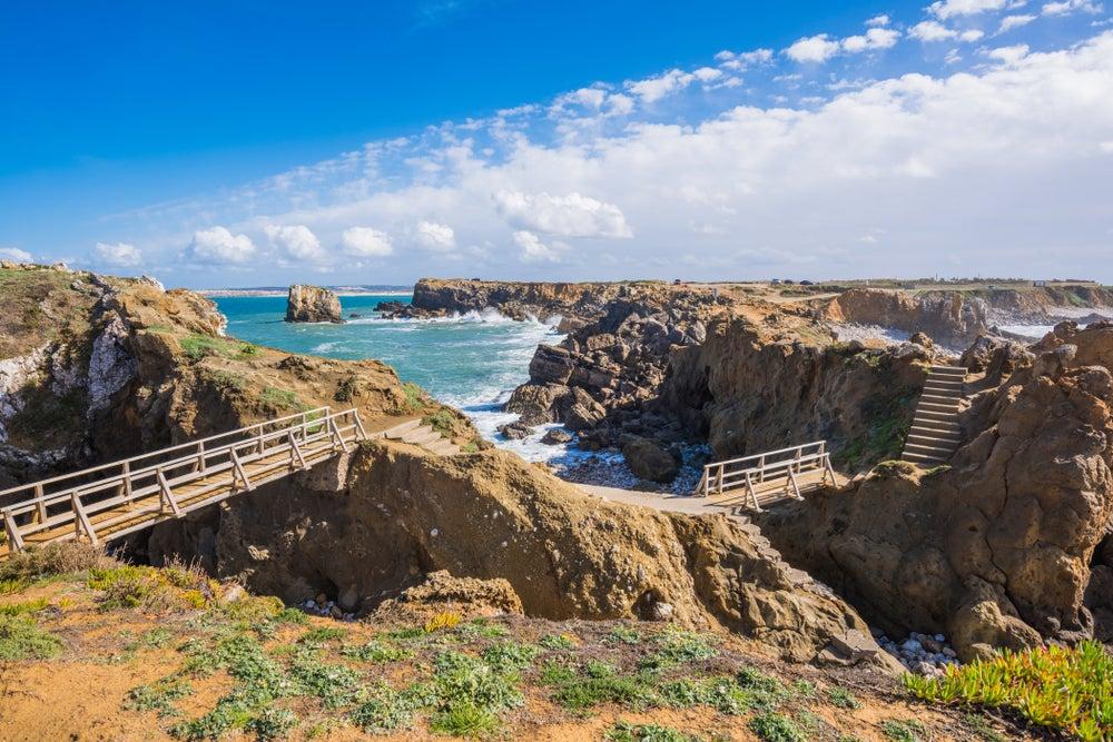 Costa de Peniche en Portugal