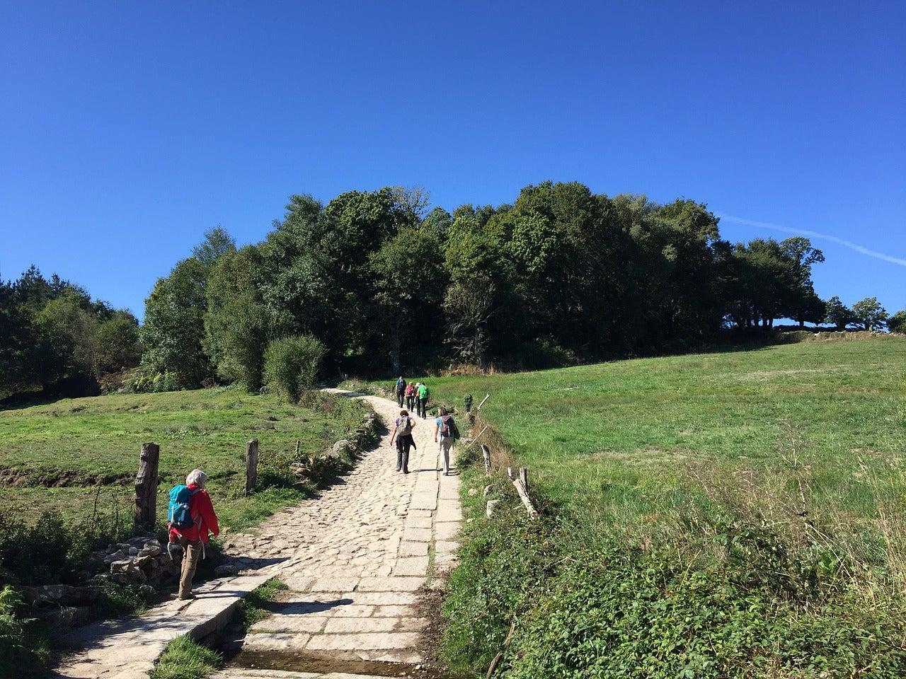 Peregrinos de América Latina en el Camino de Santiago