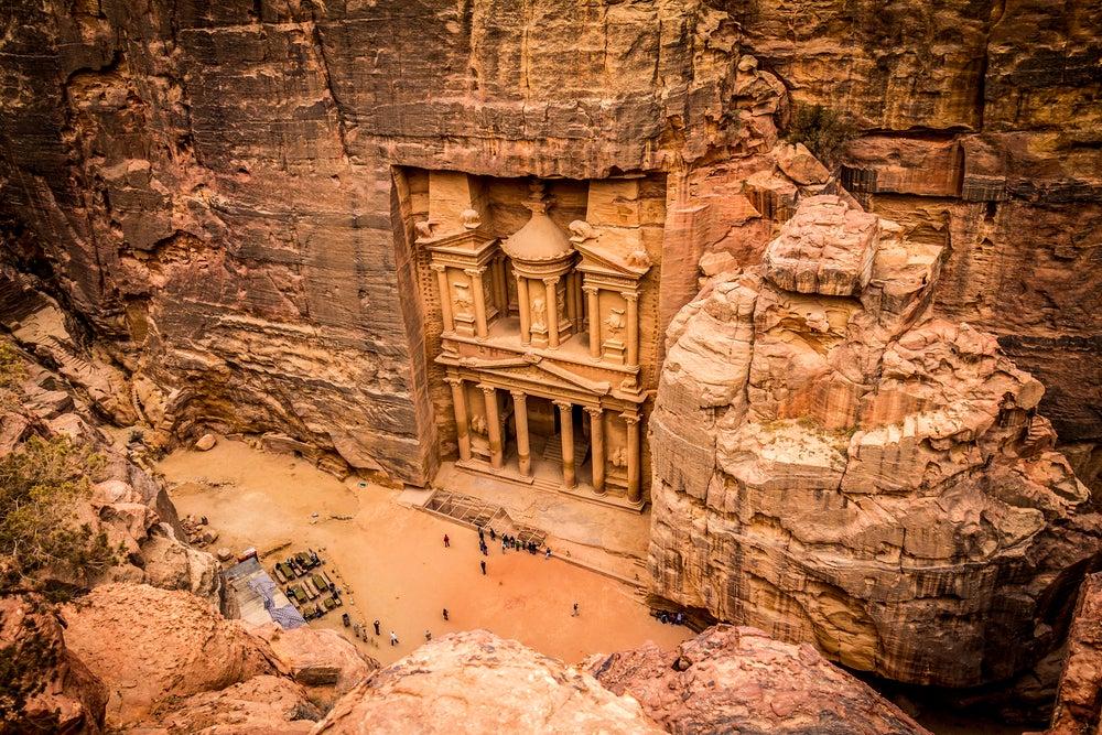 Vista de Petra