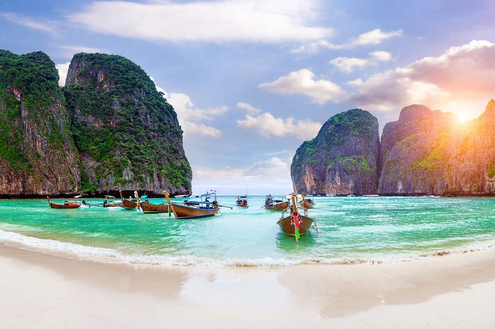 Playa en Phi Phi