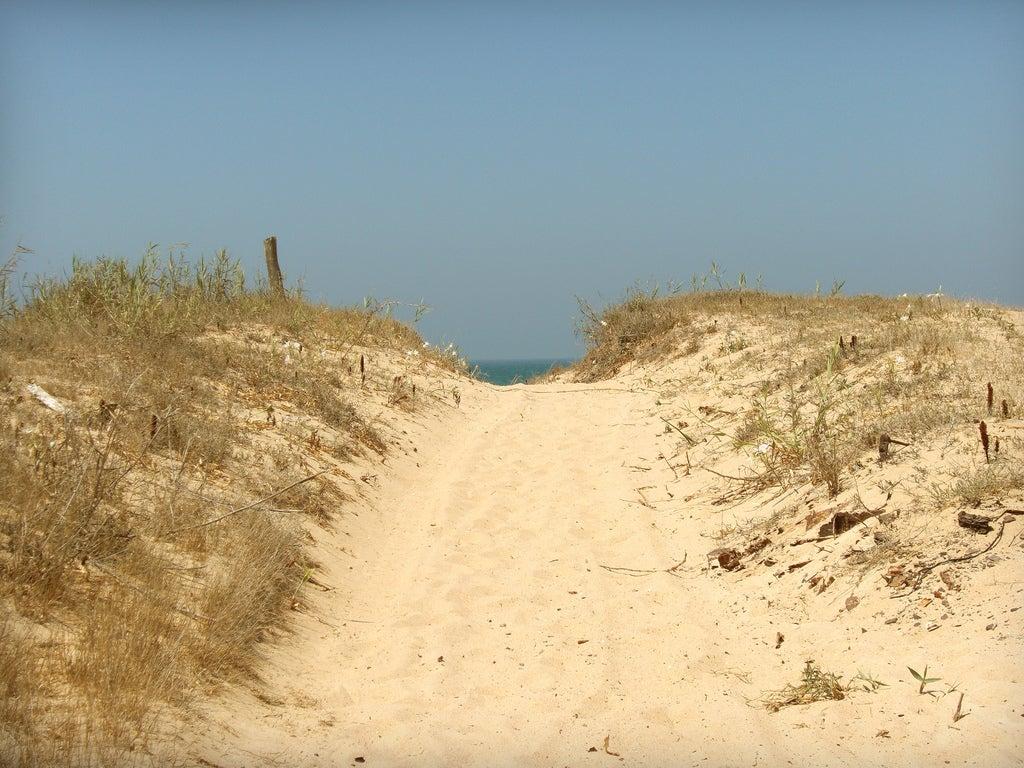 Playa de la Mangueta en Cádiz