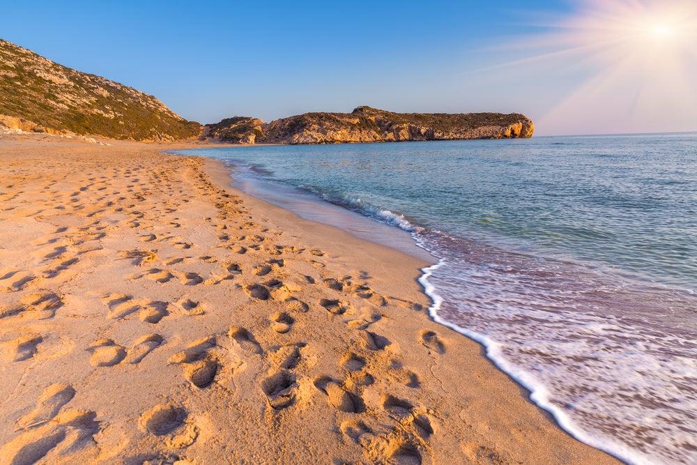 Playa de Patara en Turquía