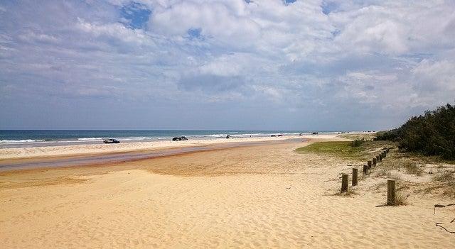 Playa en Frase Island