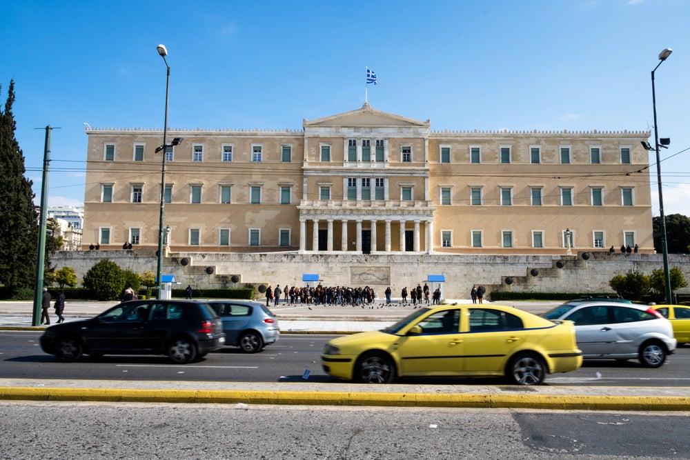 Plaza Sintagma en Atenas