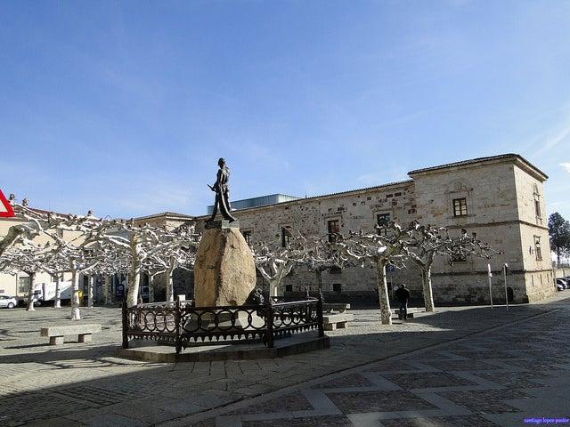 Plaza de Viriato en Zamora