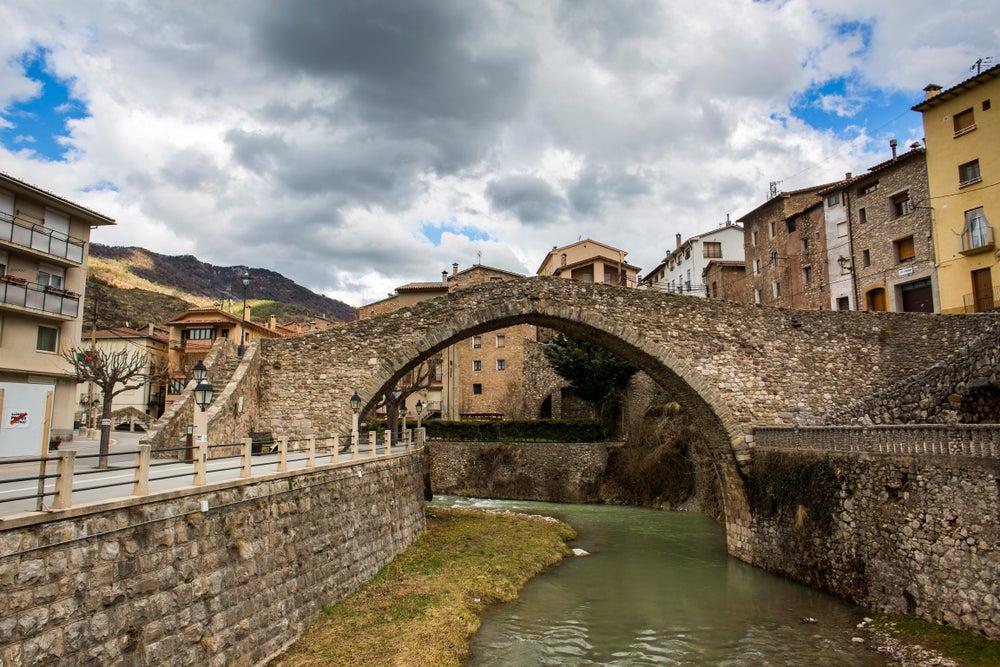 Pobla de Lillet en Berguedà