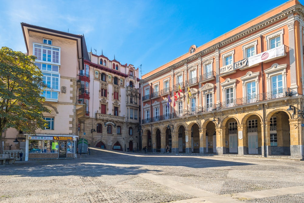 Casco urbano de Portugalete