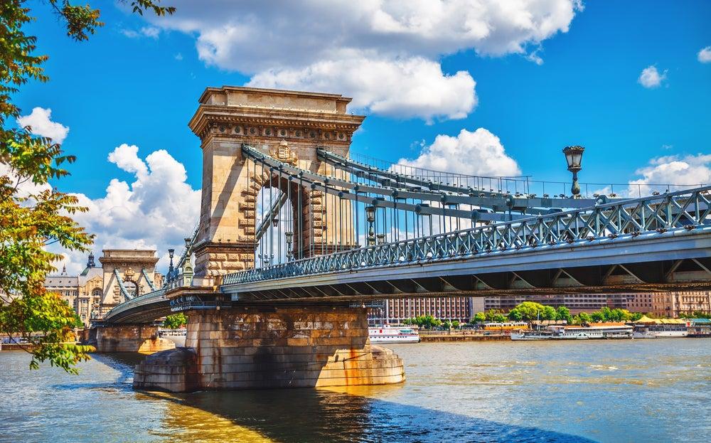 Puente de las Cadenas una de las joyas de Budapest
