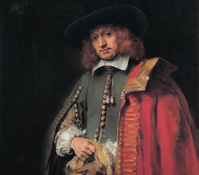 """Retrato de Jan Six"", de Rembrandt"