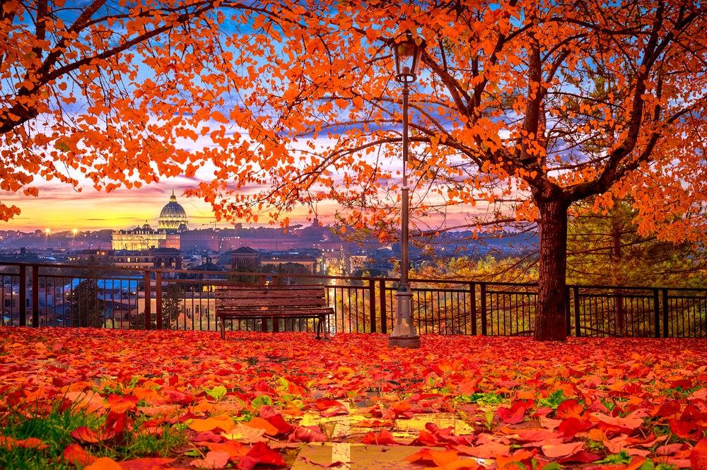 Roma en otoño