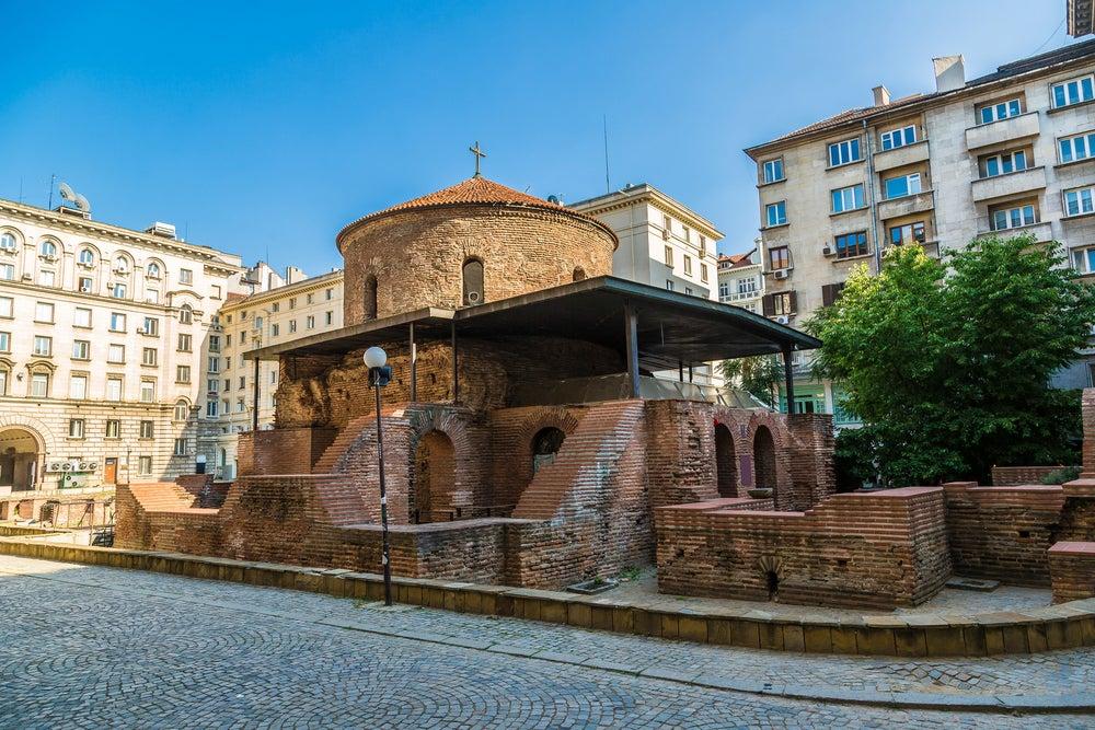 Iglesia de Sveti Georgi en Sofía