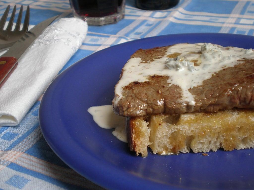 Solomillo de Cantabria al queso