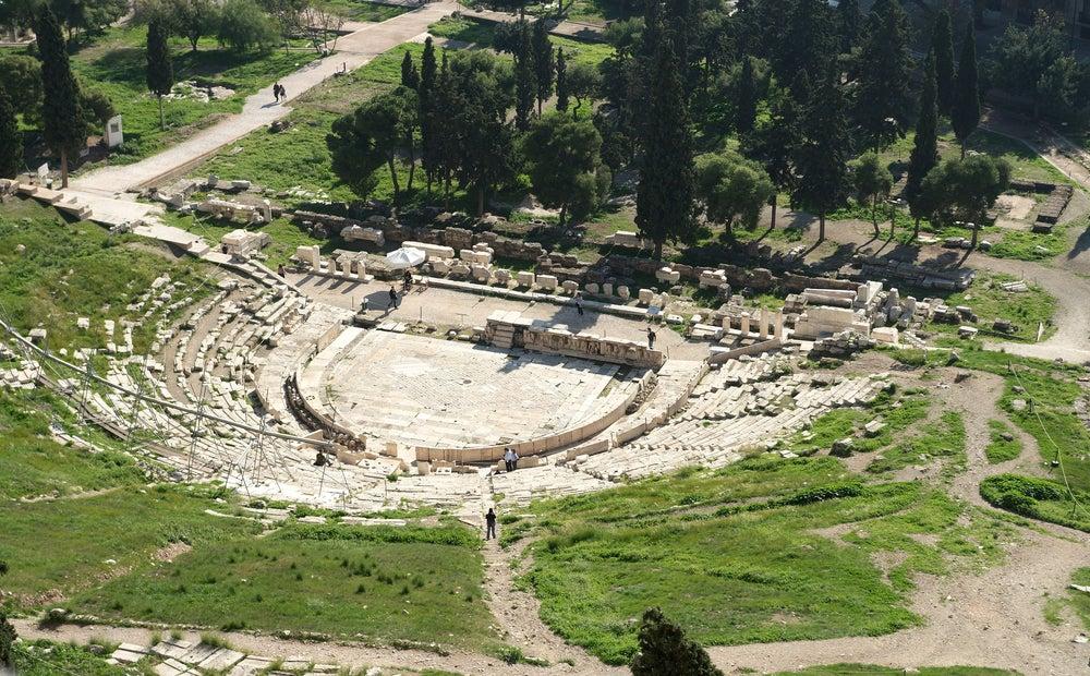Teatro de Dioniso en la Acrópolis