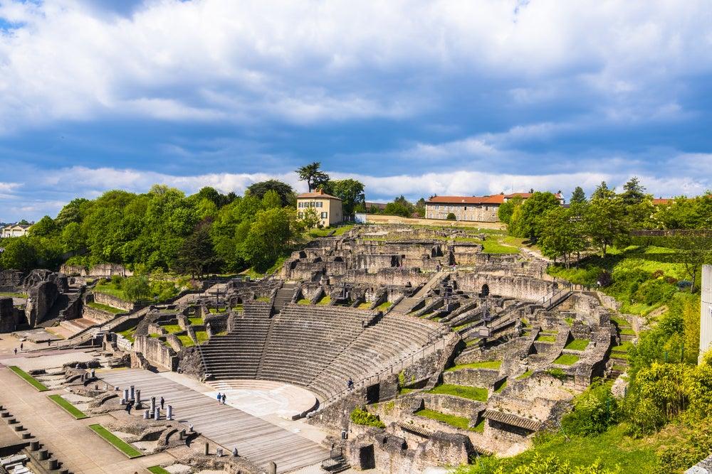 Teatro romano en la Fourviere
