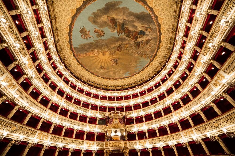 Teatro San Carlos de Nápoles