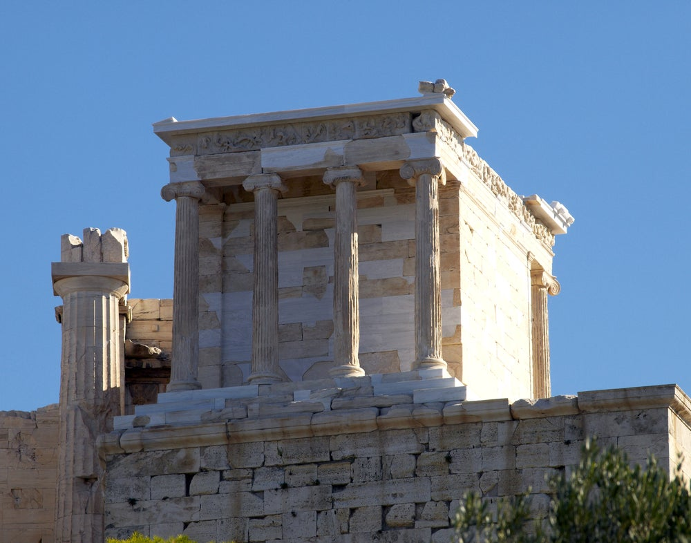 Templo de Atenea Niké en la Acrópolis de Atenas