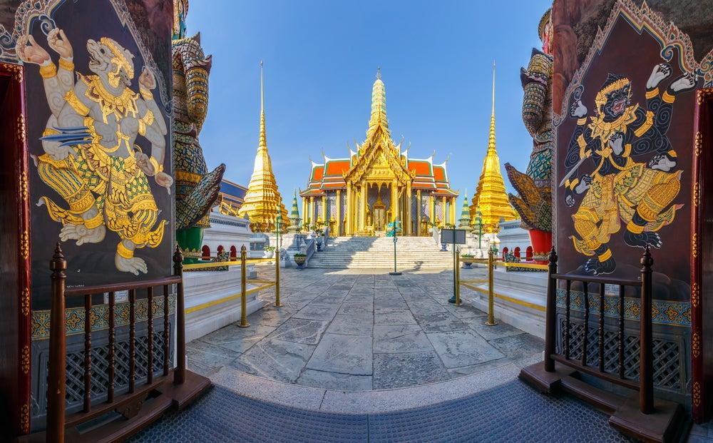 Templo del Buda Esmeralda en Bangkok