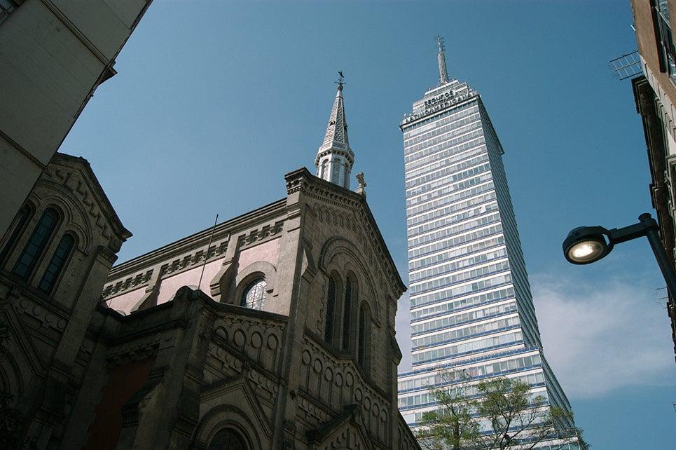 Torre Latinoamericana en México